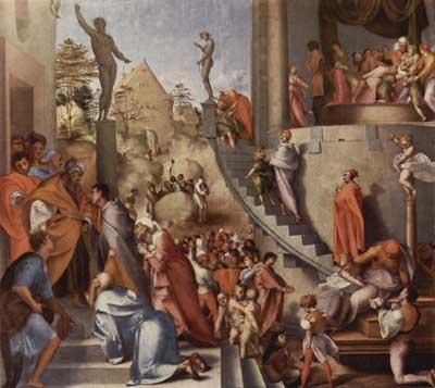 Jacopo Pontormo giuseppe egitto