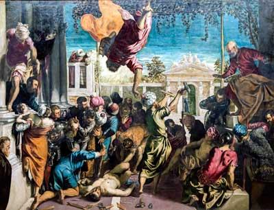 miracolo san marco schiavo Tintoretto